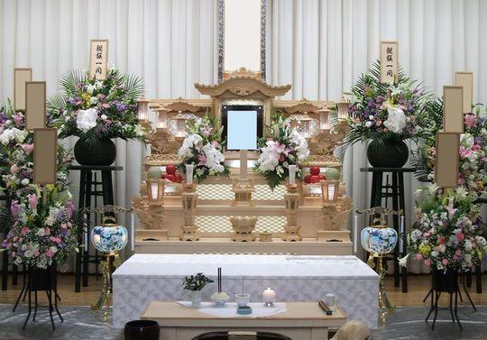 祭壇 白木 白木祭壇 家族葬